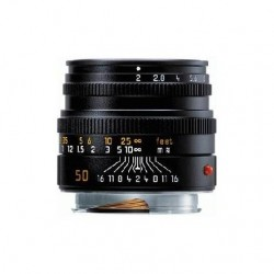 Leica APO-Summicron-M 50mm f/2 ASPH Black Lens