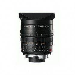 LEICA SUMMILUX-M 24 mm f/1.4 ASPHERICAL LENS BLACK (6 BIT)