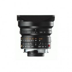 LEICA SUPER-ELMAR-M 18 mm f/3.8 ASPHERICAL BLACK LENS 11649