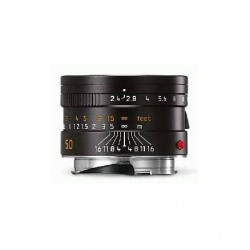 Leica Summarit-M 50mm f2.4  Lens - Black