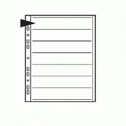 Kenro 35mm Translucent Paper Filing Pages (Pack of 25)