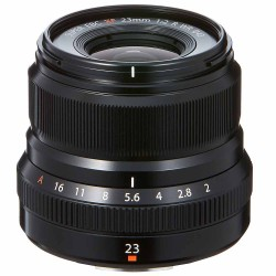 Fuji XF 23mm f2 R WR lens Black