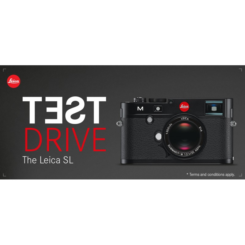 Leica SL Test Drive Promotion