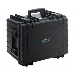 B&W International Type 5500 Outdoor Case - Black with dividers