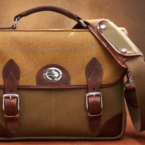 Hawkesmill Jermyn Street Camera Bag