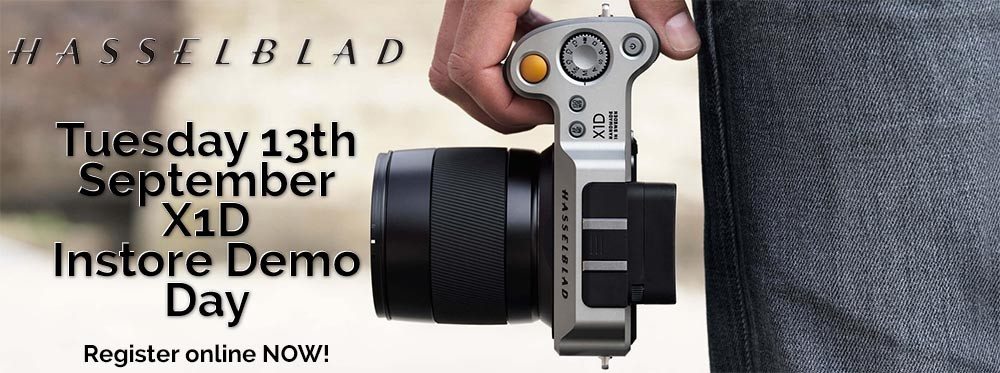 Hasselblad X1D Demo Day Tuesday the 13th of September