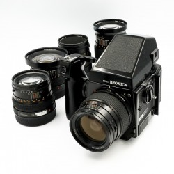 Used Bronica GS1 5 lens outfit