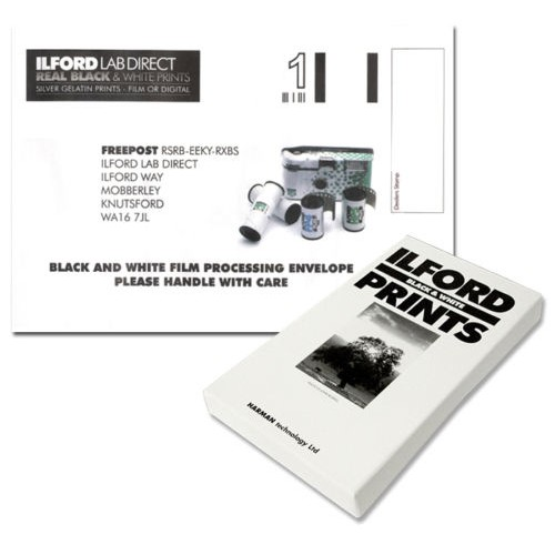 Ilford Black + White Film Processing Mailer - 35mm or 120