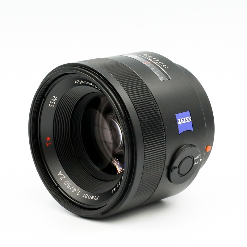 Used Sony Zeiss 50mm f/1.4 Planar ZA SSM