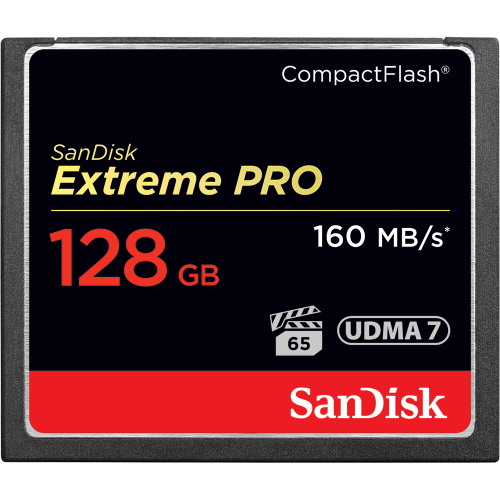 SanDisk Extreme PRO Compact Flash Memory Card 128GB