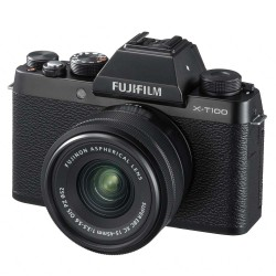 Fujifilm X-T100 + XC15-45mm Lens - Black