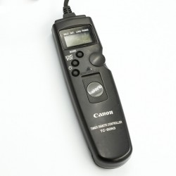Used Canon TC-80N3 Timer remote controller