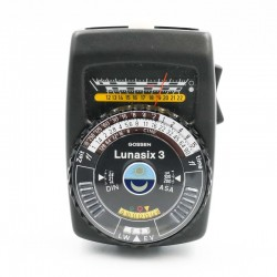 Used Gossen Lunasix 3 Light Meter