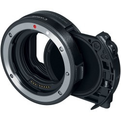 Canon Drop-In Filter Mount Adapter EF-EOS R with Drop-In Variable ND Filter A