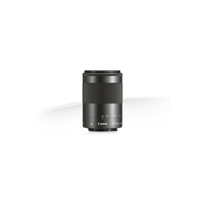 Canon EF-M 55-200mm f4.5-6.3 IS STM Lens - Black for EOS M