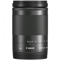 Canon EF-M 18-150mm f3.5-5.6 IS STM Lens Black