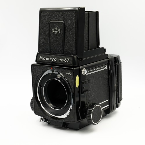 Used Mamiya RB67 Pro-S 3 Lens Outfit (65,140,360)