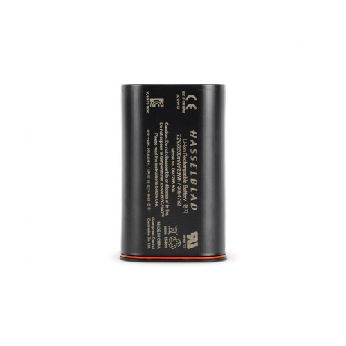 Hasselblad Li-ion battery (7.2 V/3400 mAh) for the X1D and 907 cameras