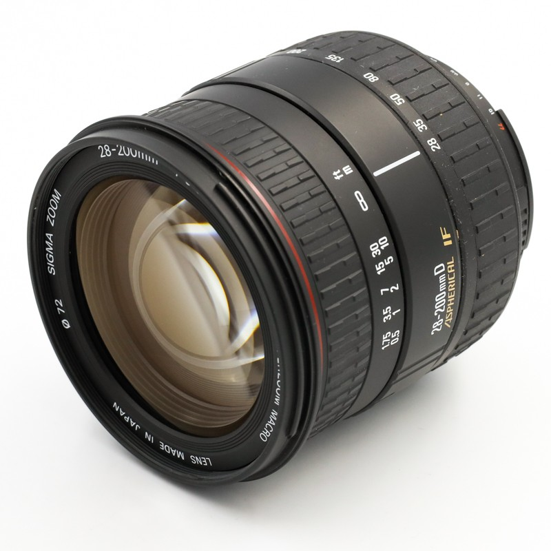 Used SIGMA 28-200mm f3.5/5.6 D IF for Nikon