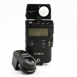 Used Minolta Flash Meter IV + Viewfinder 5