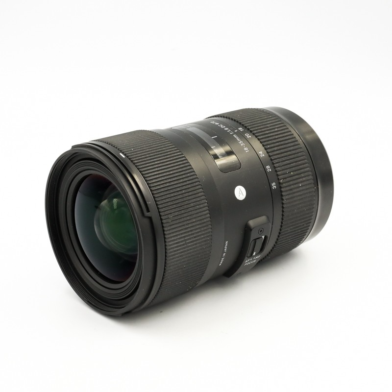 Used Sigma 18-35mm f1.8 DC Art For Canon