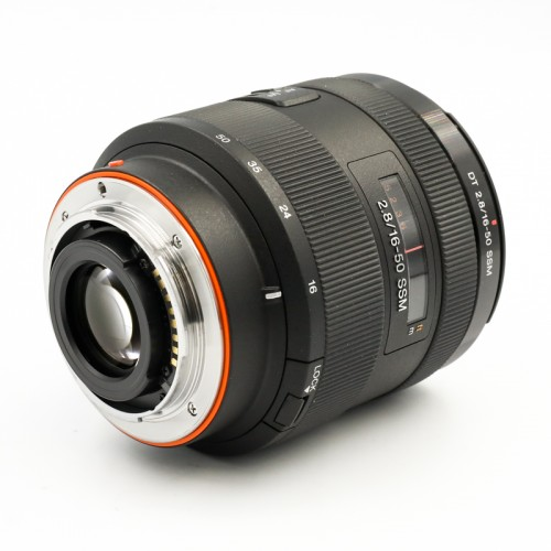 Used Sony A-Mount DT 16-50mm f2.8 SSM