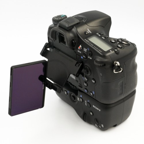 Used Sony A77 Body Only w/ VGC77AM Grip