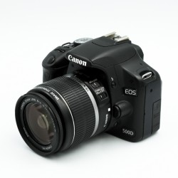 Used Canon EOS 500D w/ 18-55mm f3.5-5.6 IS Kit