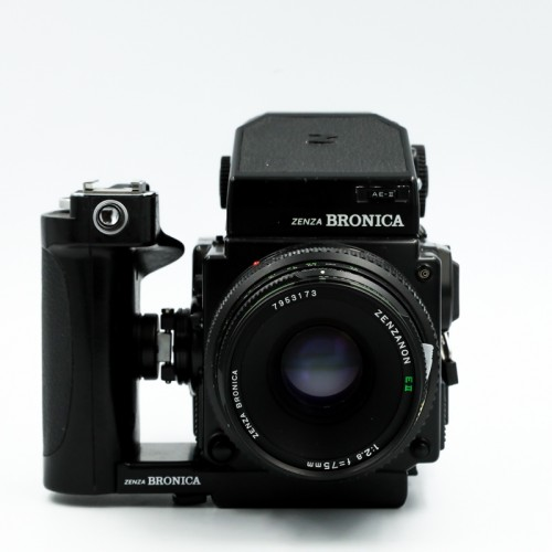 Used Bronica ETRSi w/75mm f2.8 Lens