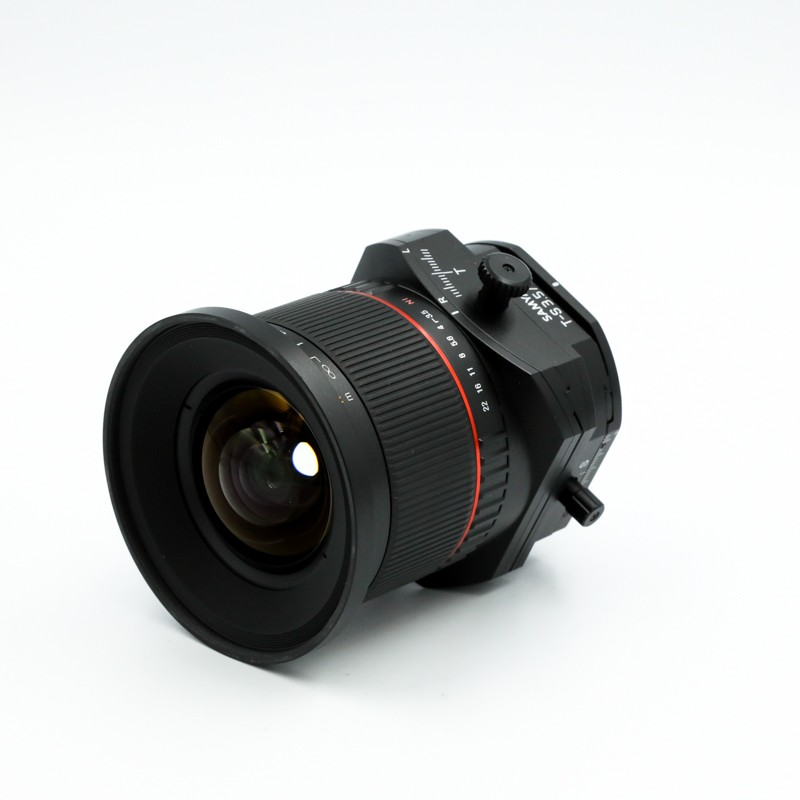Used Samyang 24mm f3.5 T/S ED AS UMC For Nikon