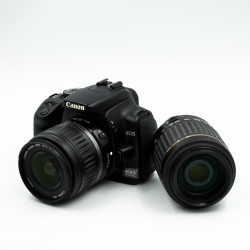 Used Canon EOS 400D w/ 2x lens Kit