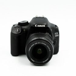 Used Canon EOS 550D w/ 18-55 IS Kit