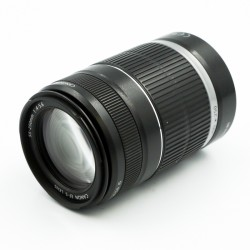 Used Canon zoom Lens EF-S 55-250mm f/4-5.6
