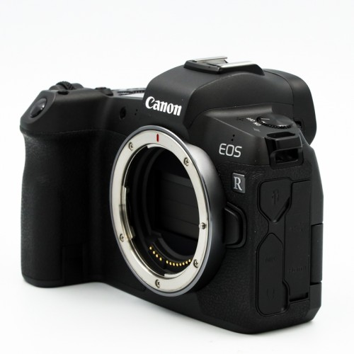 Used Canon EOS R Body Only w/ Mount Adapter