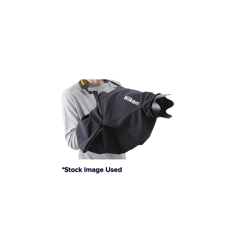 Used Nikon NRC-02S Small Rain Cover with Lobster Gloves and Inner Gloves