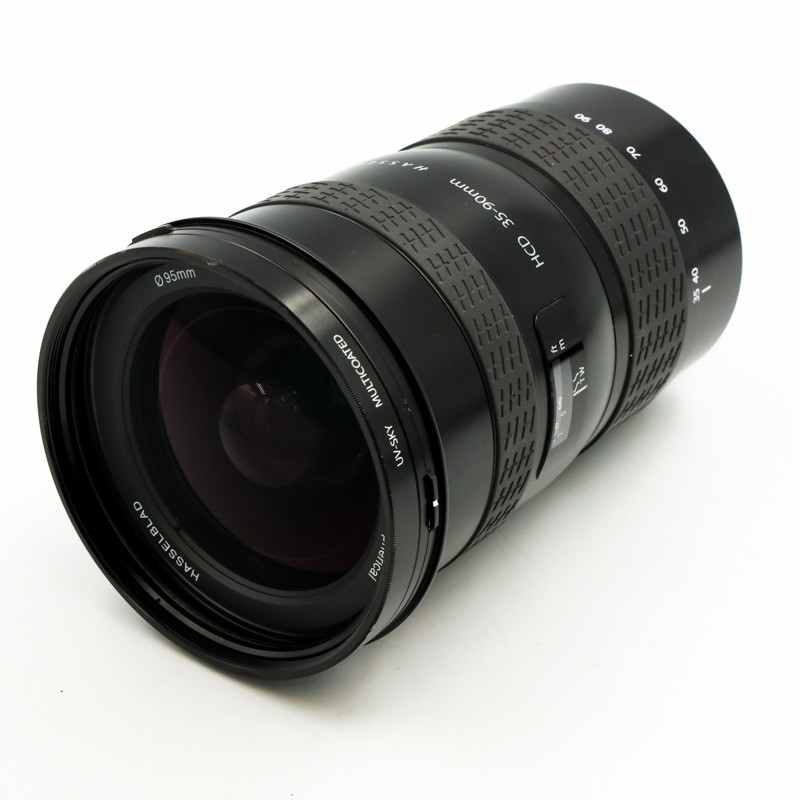 Used Hasselblad HCD 35-90mm f4.5/5.6 lens + UV Filter