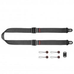Peak Design Slide Lite camera strap Black