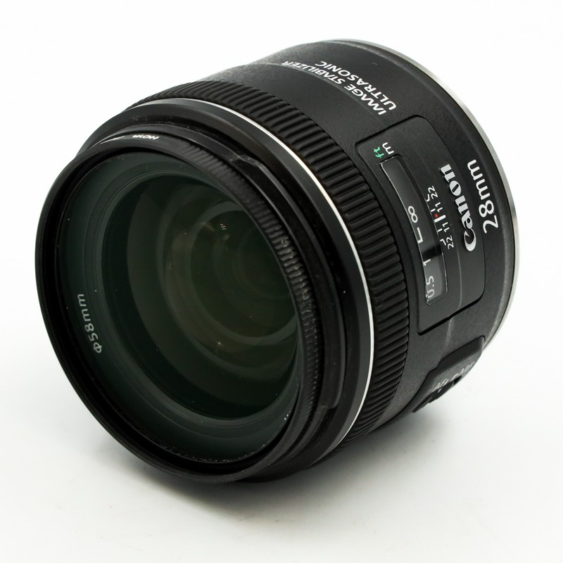 Used Canon EF 28mm f2.8 IS USM Lens