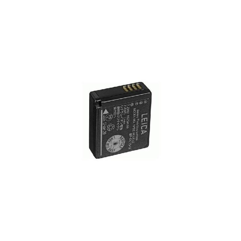 Leica Lithium-Ion-Battery BP-DC15 E for D-LUX (Typ 109 and D-Lux 7)