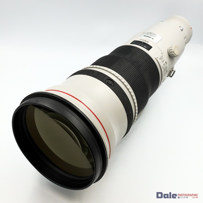 Used Canon EF 600mm f4L IS II Lens