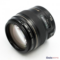 Used Canon EF 100mm f2 Lens + Hood