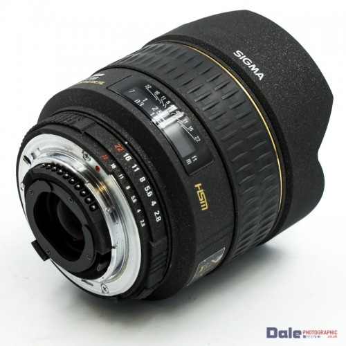 Used Sigma 14mm f2.8D EX HSM Lens for Nikon
