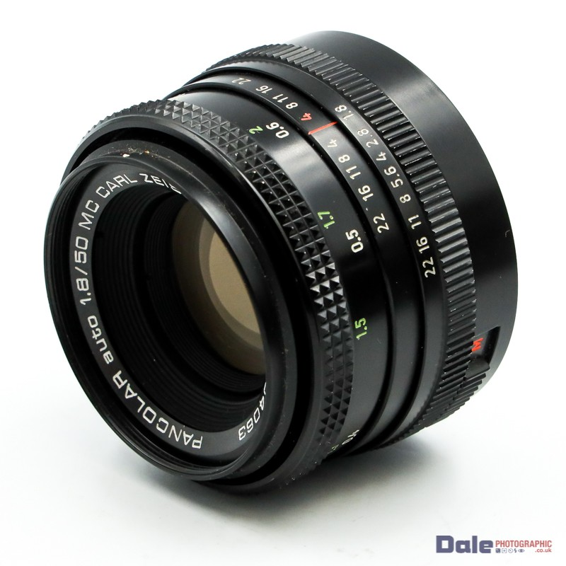 Used Pancolar Auto 50mm f1.8 MC CARL Zeiss Jenna DOR M42 Screw Mount