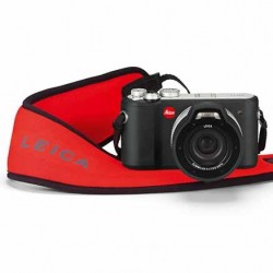 Leica Red Floating camera strap for the X-U camera