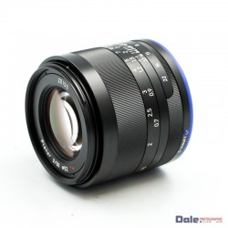 Used Zeiss Loxia Planar 50mm f2 T* Sony FE fit lens 2/50