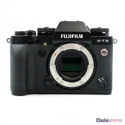 Used Fujifilm X-T3 Black Digital Camera