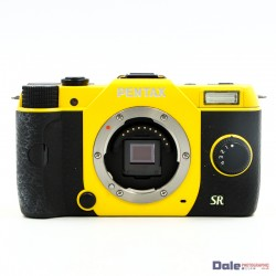 Used Pentax Q7 Digital Camera Yellow Body only