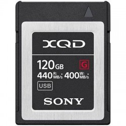 Sony 120GB G Series XQD Card - (Read 440MB/s and Write 400MB/s)