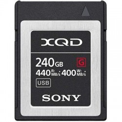 Sony 256GB G Series XQD Card - 400MB/s