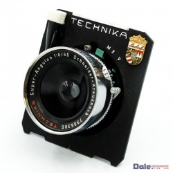 Used Technika Super-Angulon 8/65 65mm f8 Large Format lens